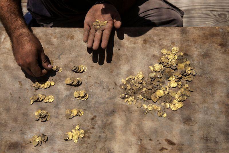 Un trésor vieux de 1000 ans découvert par des adolescents israéliens