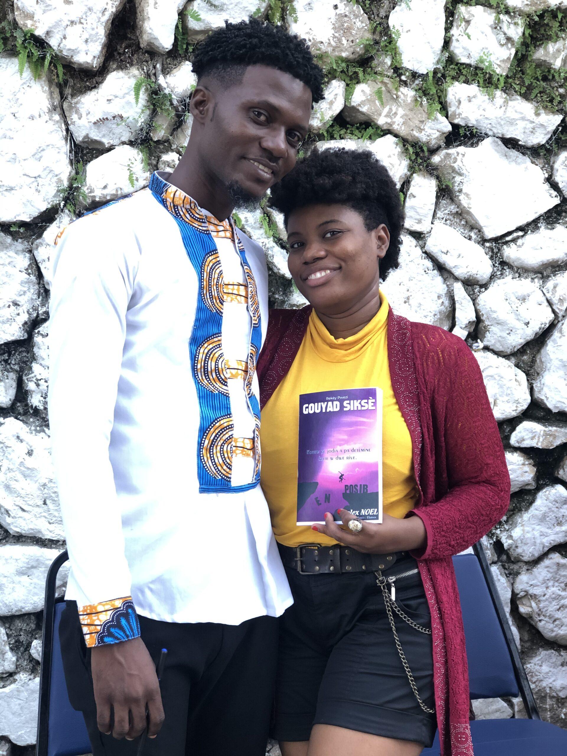 """Haïti-Culture-Littérature : Rolex Noel signe son recueil de Poèmes """"Gouyad Siksè"""" ce samedi dans le jardin Le Diamant Bar Resto"""