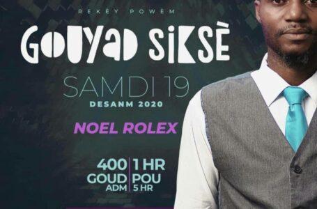 """Le Poète Rolex NOEL entend propulser les jeunes avec """"Gouyad Siksè"""""""