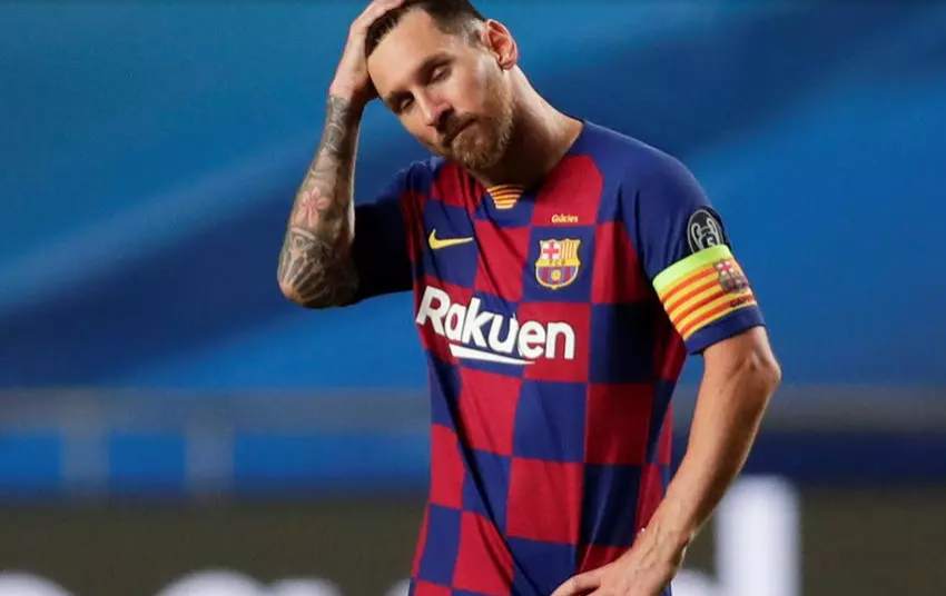 Lionel Messi décide de quitter le FC Barcelone