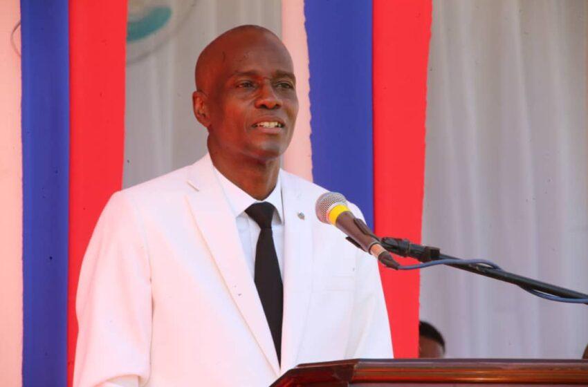 Jovenel Moïse, Président de la République d'Haïti, assassiné en sa résidence